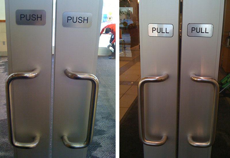 Design dei prodotti ecco come gli oggetti ci parlano - Entrare in una porta ...