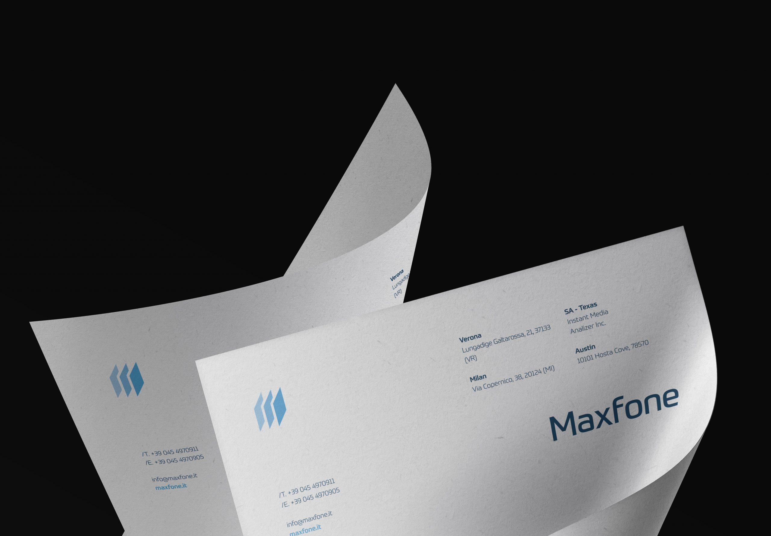 Maxfone Letterhead