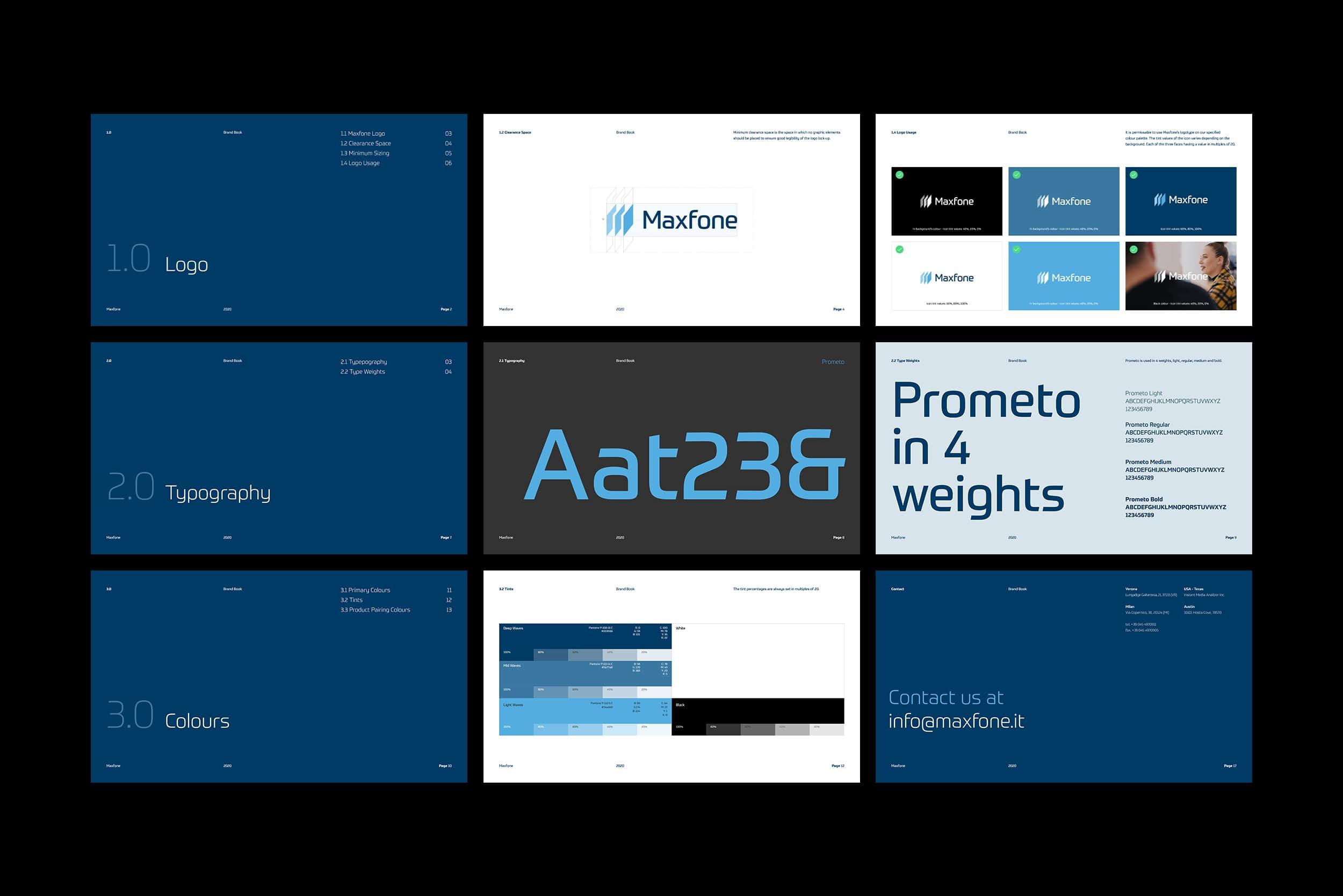 Maxfone brandbook