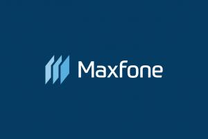 Maxfone Logo White