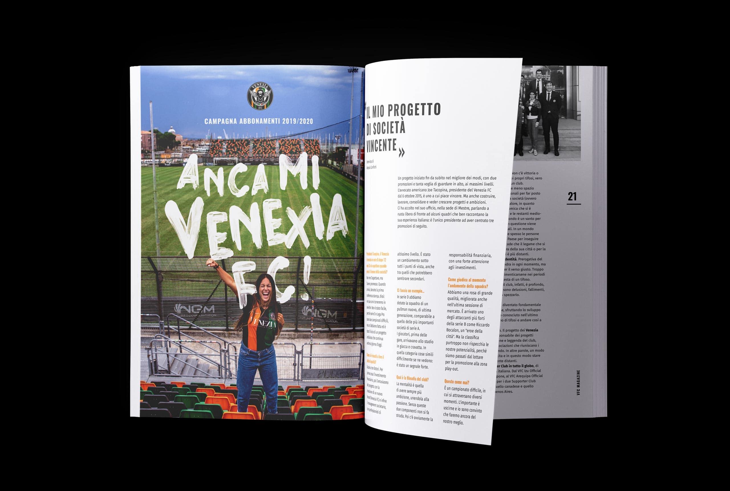 Magazine Venezia FC