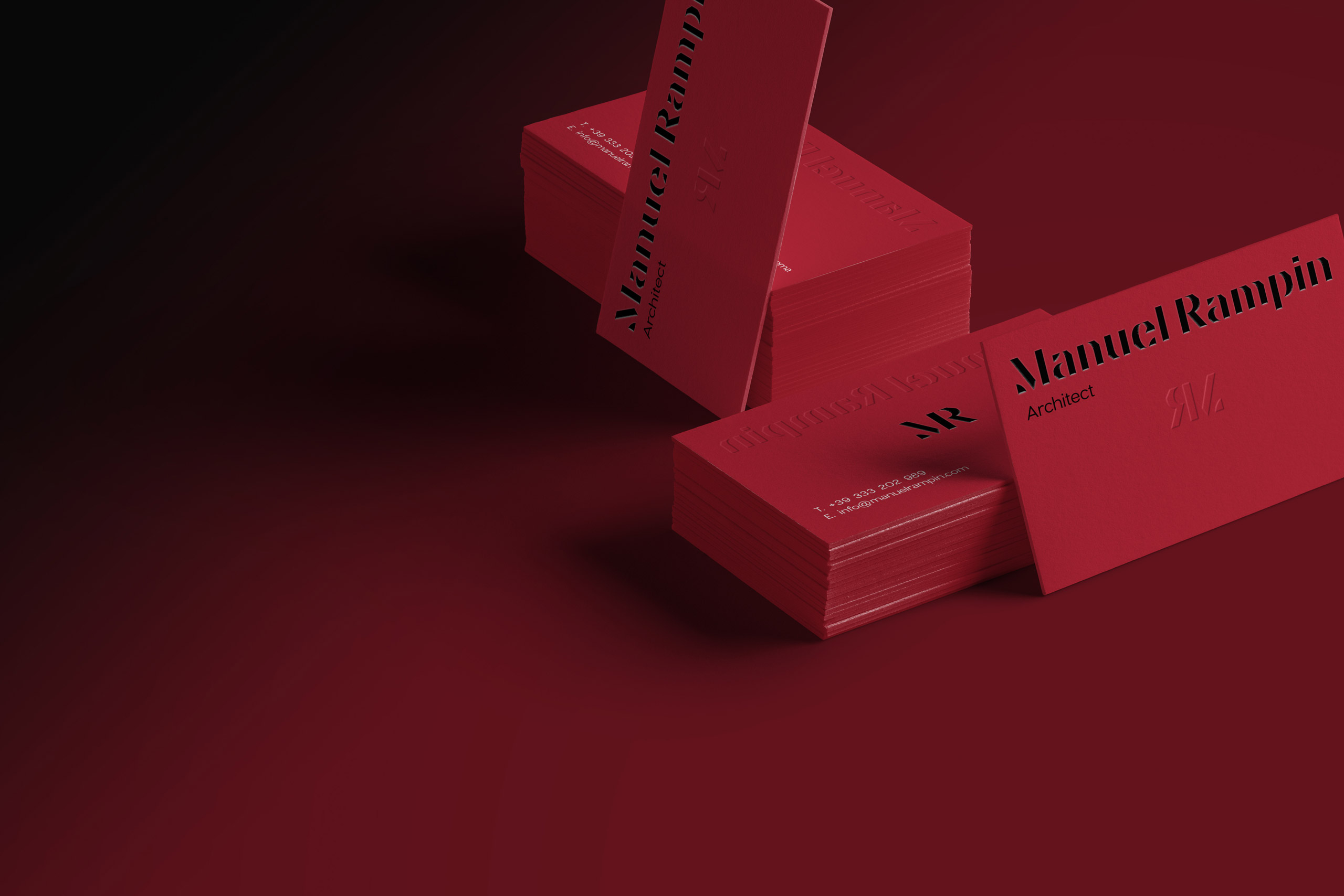 Manuel Rampin business card
