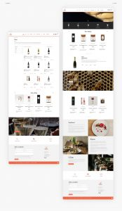 Art & Food ecommerce