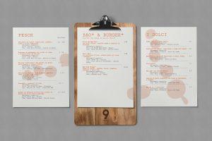 Art & Food menu