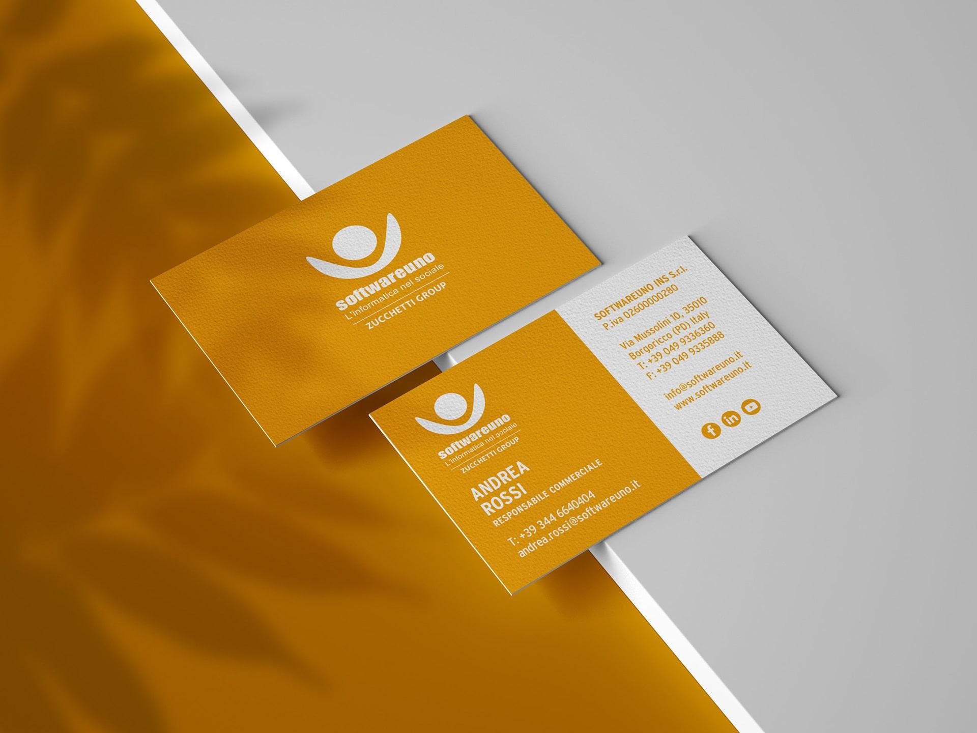 Softwareuno Business Card