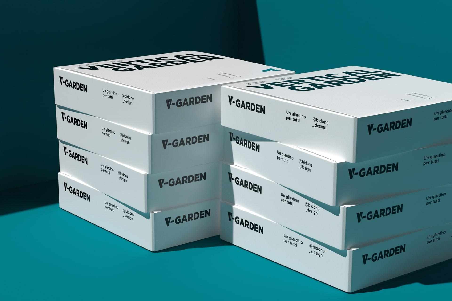 V-Garden boxes white