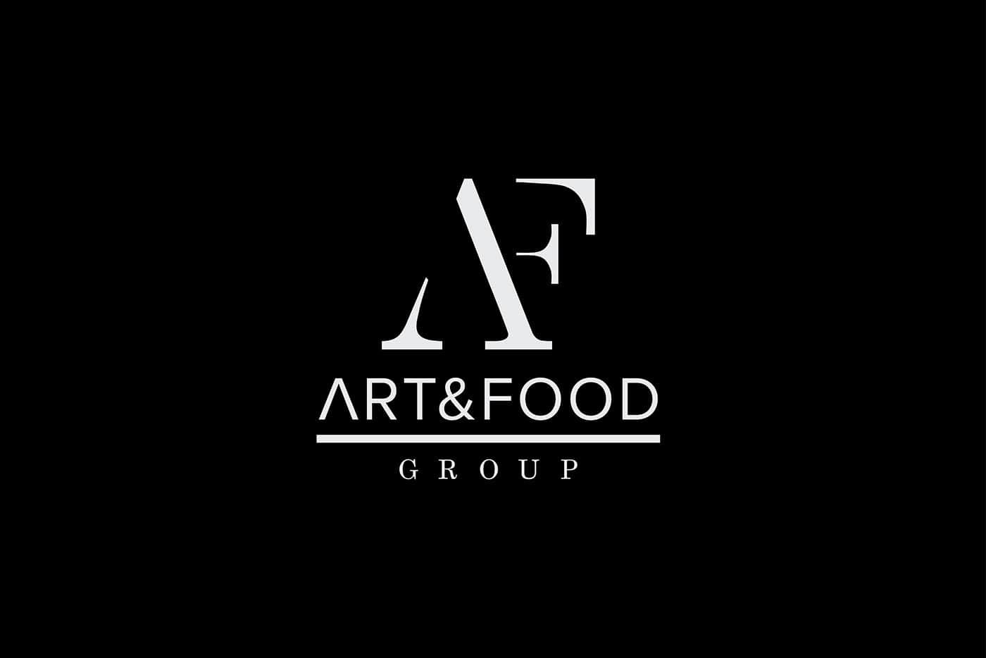 Logo Art & Food white
