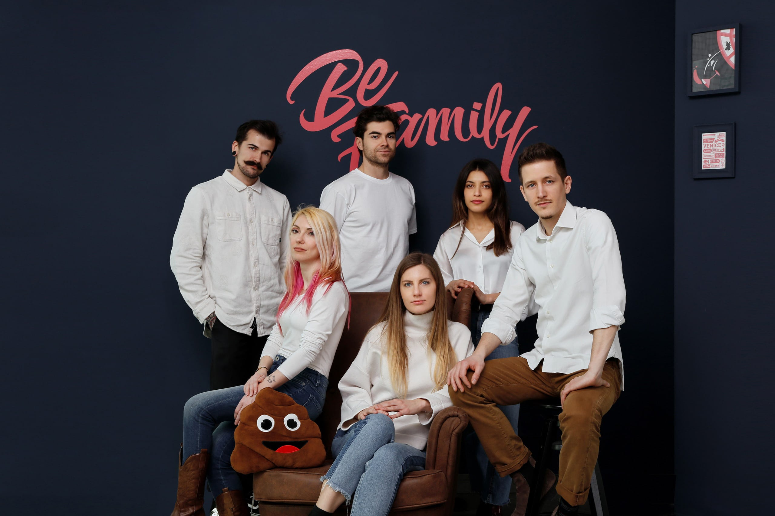 Il team di Be.Family