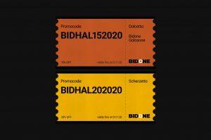 Promocode Halloween Bidone Design