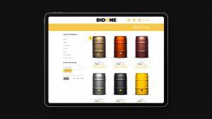 Listing prodotti Bidone