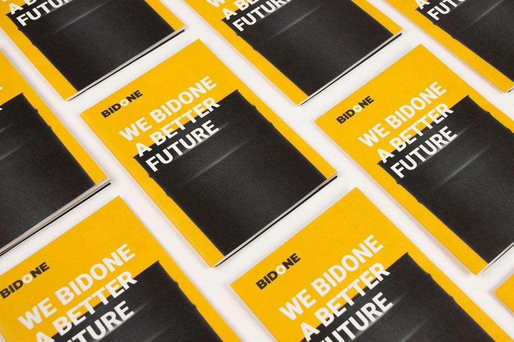 Bidone Pattern Leaflet