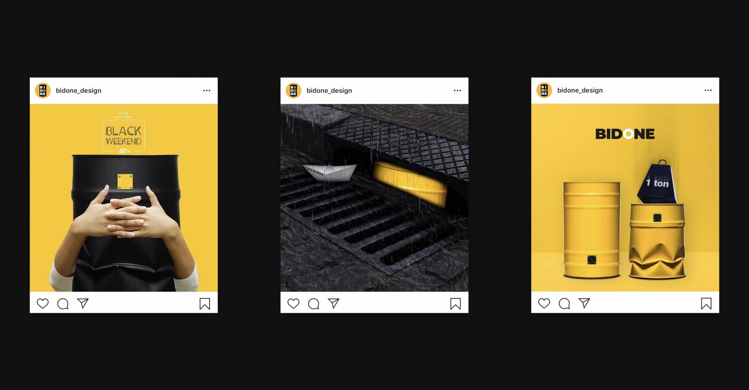 Bidone Post Instagram