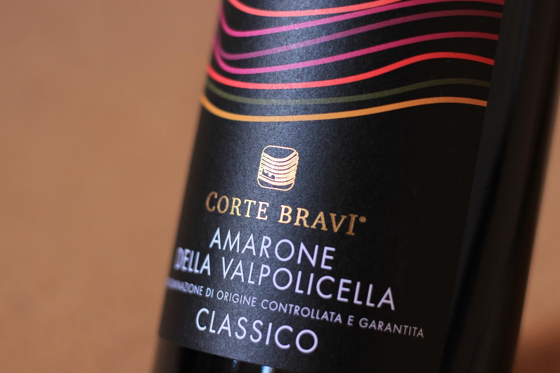 Corte Bravi Amarone Label