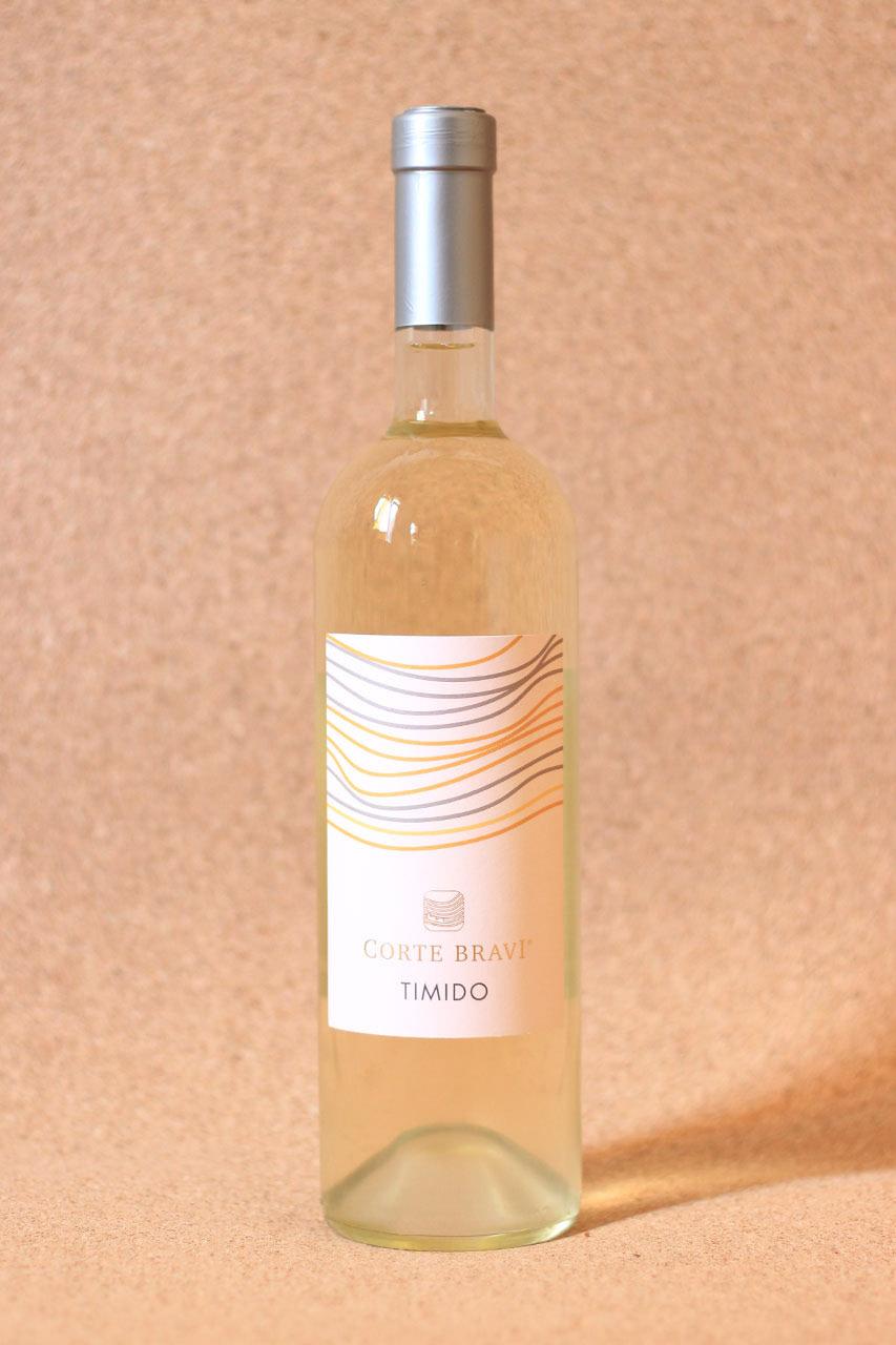 Bottiglia di Vino Corte Bravi Timido