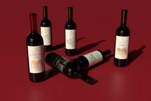 Bottiglie di vino Corte Bravi