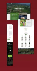Corte Bravi website