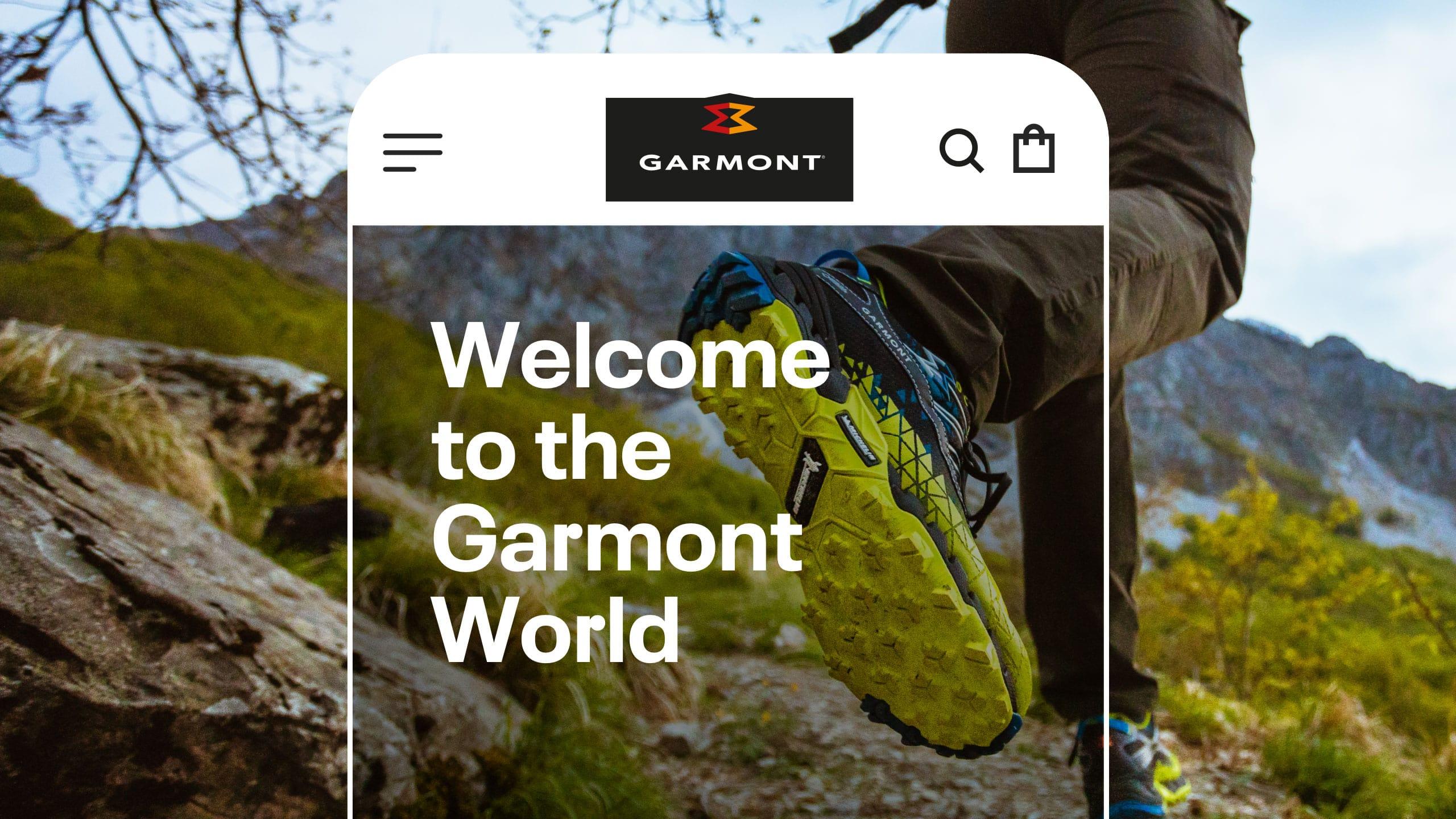 Header Garmont mobile