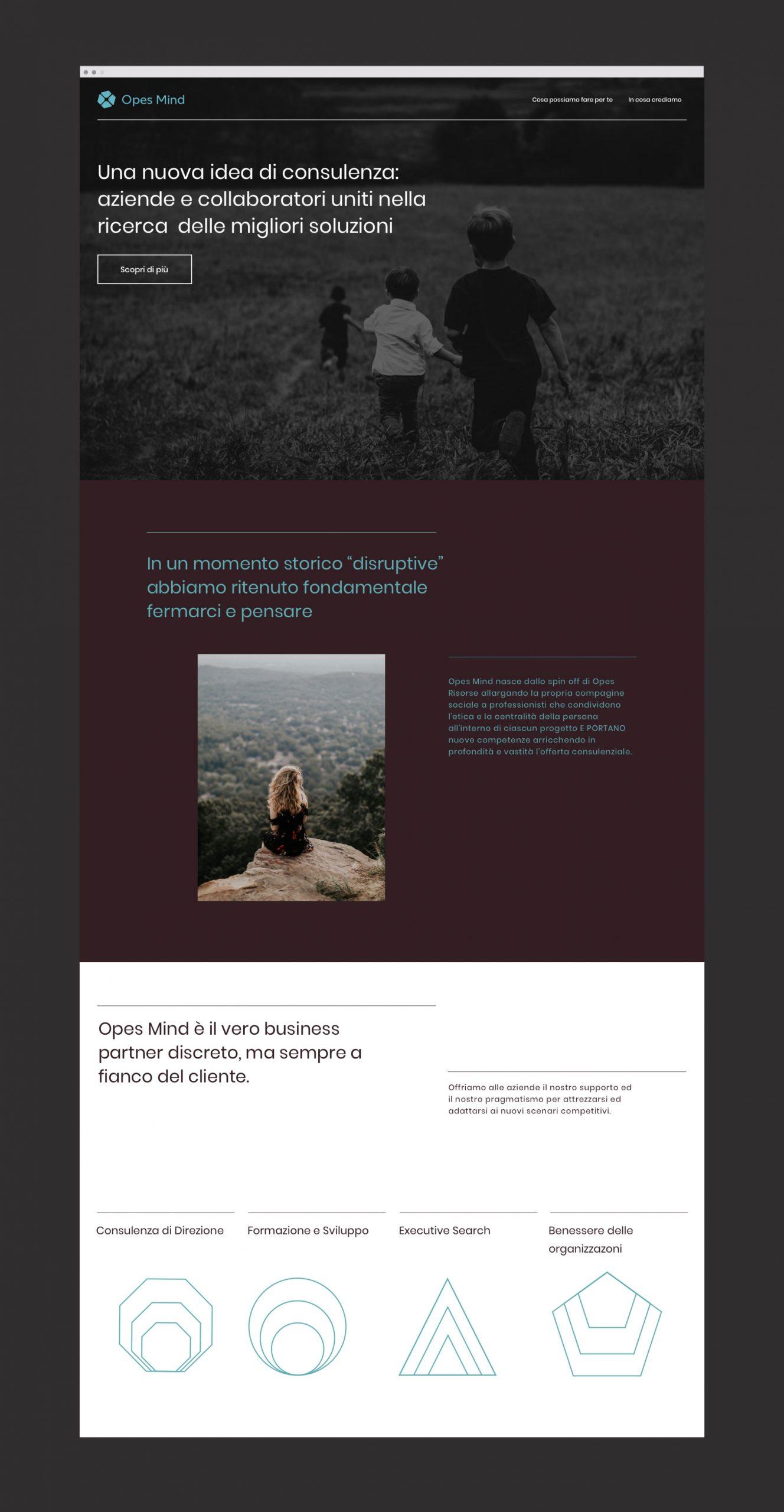 Opes Mind Homepage