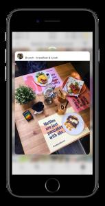 Brunch post Instagram UGC