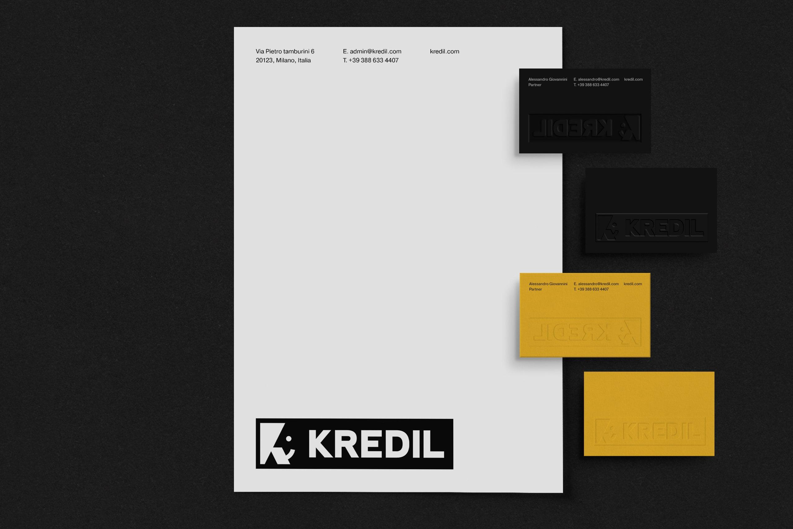 Kredil BC and Letterhead