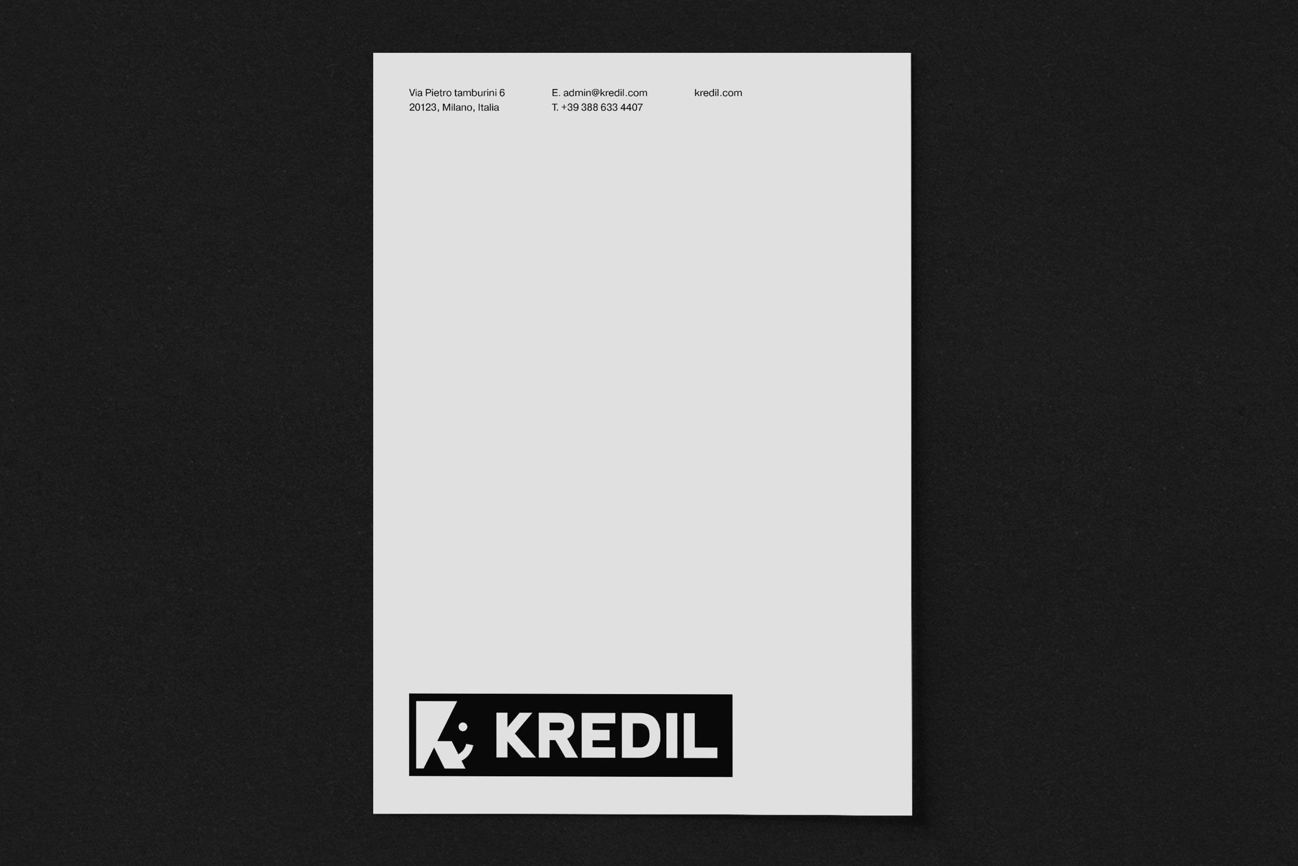 Kredil Letterhead