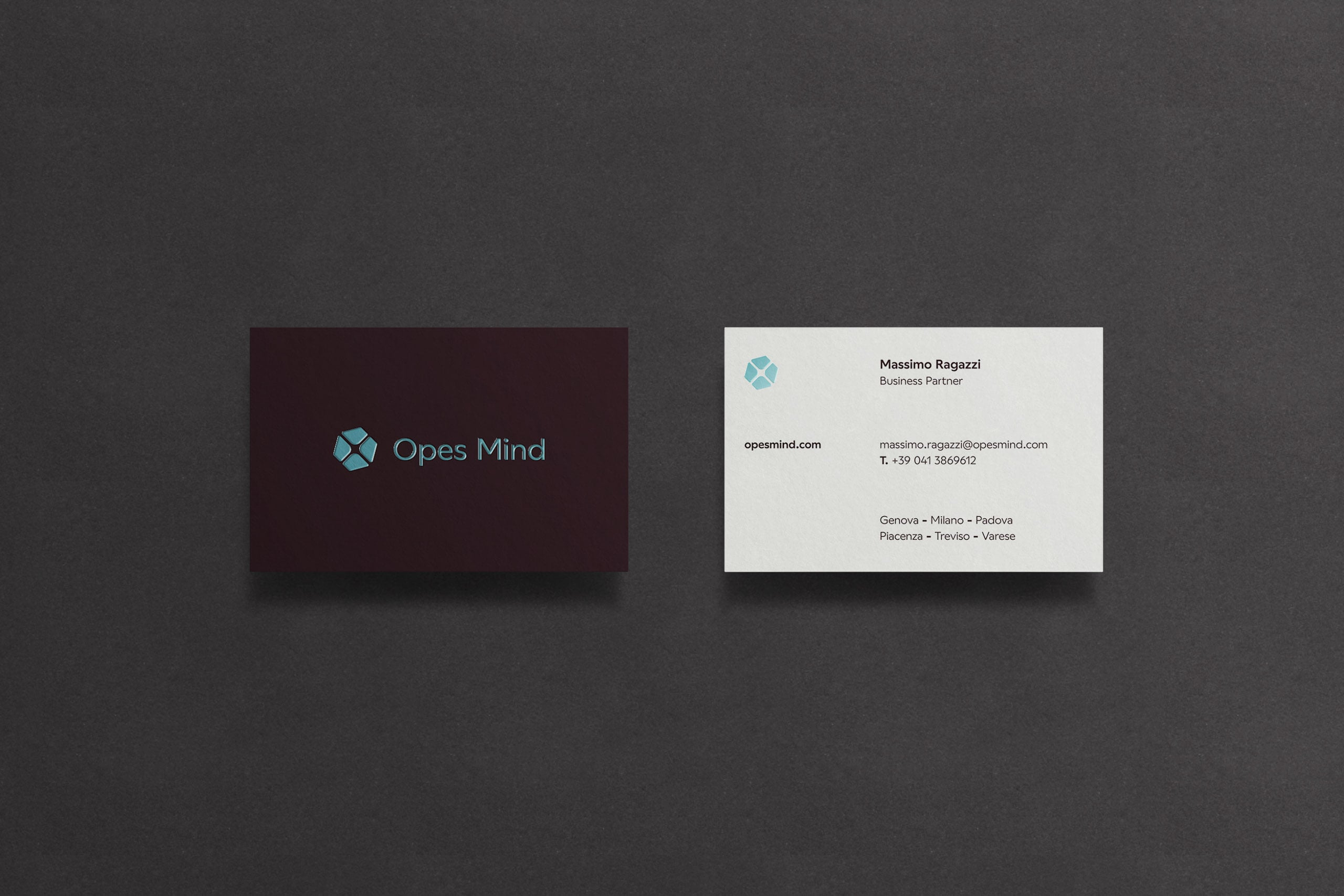 Opes Mind Business Card