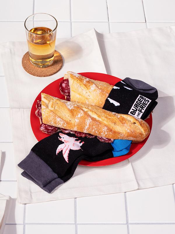 Sandwich Socks SBF