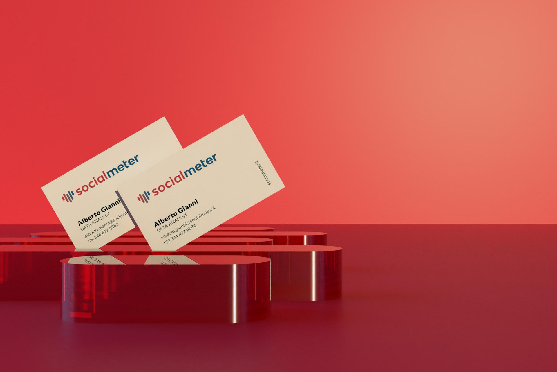 SocialMeter Business Card