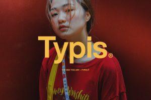 Typis logo yellow