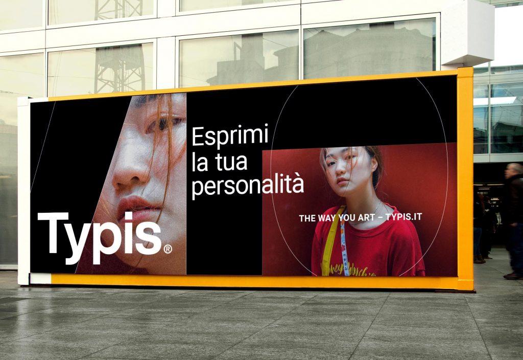Typis urban billboard