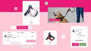 Componenti UI shop Tre Ponti